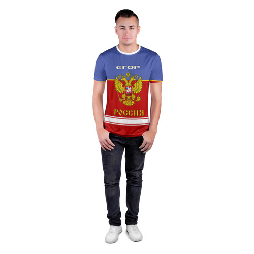 Мужская футболка 3D спортивная  Фото 04, Хоккеист Егор