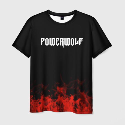 Мужская футболка 3D  Фото 03, Powerwolf