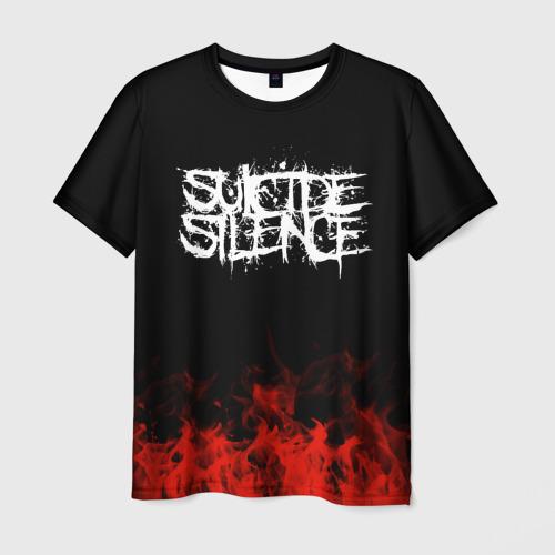 Мужская футболка 3D  Фото 03, Suicide Silence