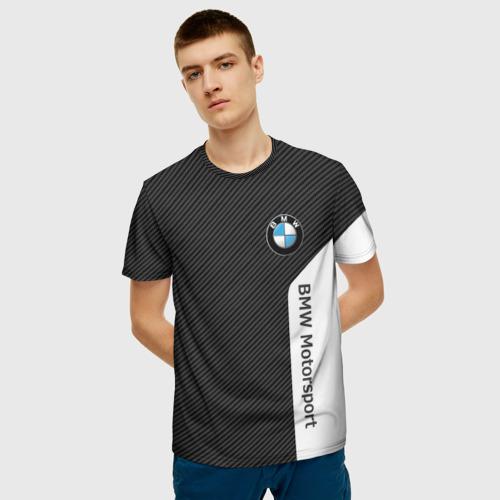 Мужская футболка 3D BMW CARBON | БМВ КАРБОН Фото 01