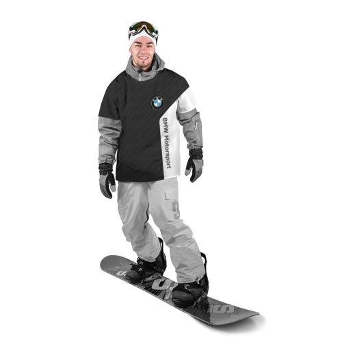 Накидка на куртку 3D  Фото 03, BMW Motorsport Carbon