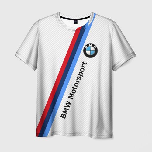 Мужская футболка 3D  Фото 03, BMW Motorsport Carbon