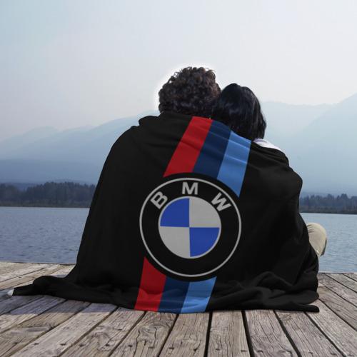 Плед 3D BMW 2021 M SPORT / БМВ М СПОРТ Фото 01
