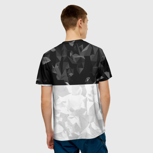 Мужская футболка 3D RUSSIA BLACK X WHITE   РОССИЯ Фото 01