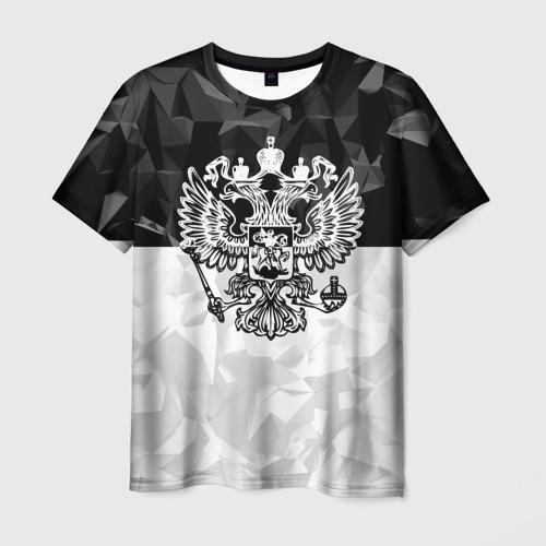 Мужская футболка 3D  Фото 03, RUSSIA - Black Collection
