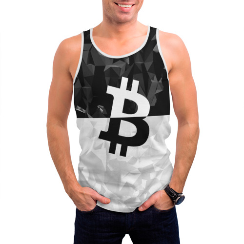 Мужская майка 3D  Фото 03, BITCOIN Black Collection