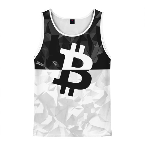 Мужская майка 3D  Фото 01, BITCOIN Black Collection