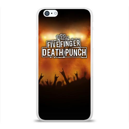 Чехол для Apple iPhone 6Plus/6SPlus силиконовый глянцевый  Фото 01, Five Finger Death Punch
