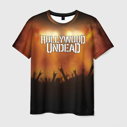 Мужская футболка 3D  Фото 01, Hollywood Undead