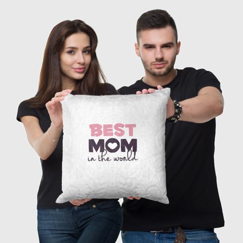 Подушка 3D  Фото 05, Лучшая мама в мире