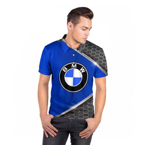 Мужская рубашка поло 3D  Фото 05, BMW sport collection auto