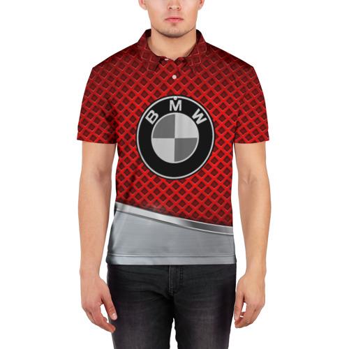 Мужская рубашка поло 3D  Фото 03, BMW METAL COLLECTION SPORT
