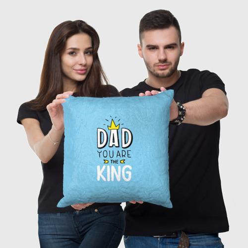 Подушка 3D  Фото 05, Мой папа король