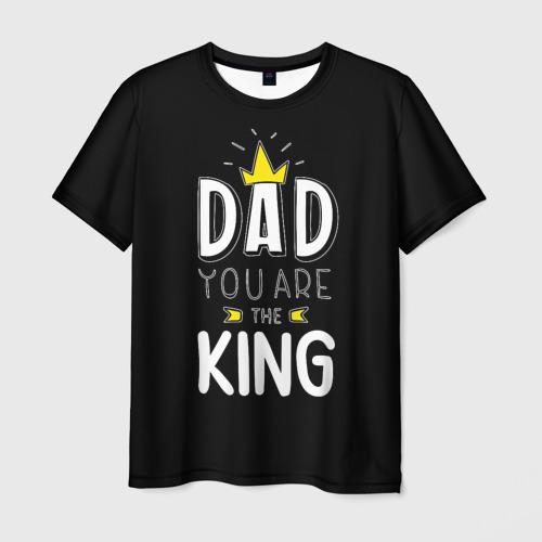 Мужская футболка 3D  Фото 03, Папа король