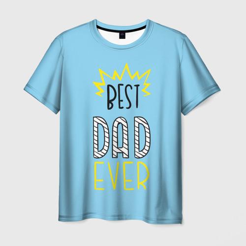 Мужская футболка 3D  Фото 03, Лучший папа
