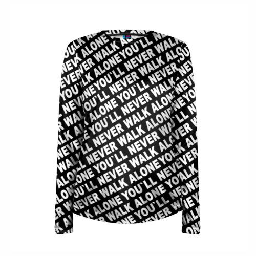 Женский лонгслив 3D для беременных  Фото 03, YNWA ЧБ
