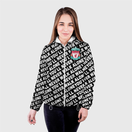 Женская куртка 3D  Фото 03, YNWA с логотипом