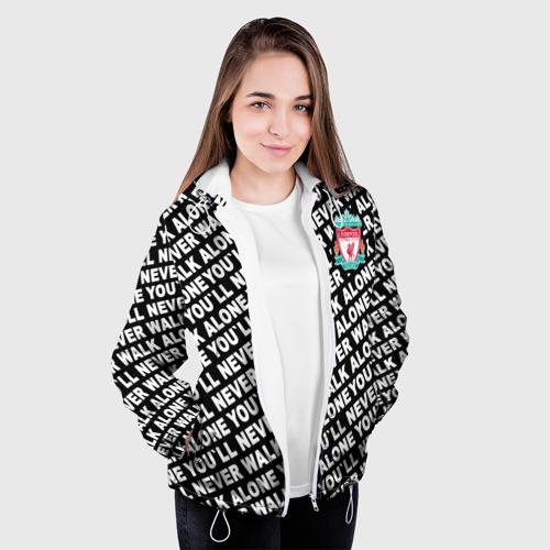 Женская куртка 3D  Фото 04, YNWA с логотипом