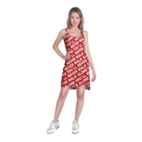 Платье-майка 3D  Фото 03, YNWA красный