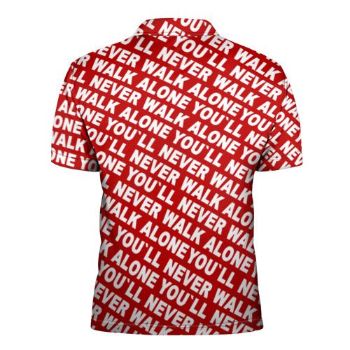 Мужская рубашка поло 3D  Фото 02, YNWA красный