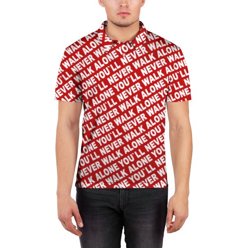 Мужская рубашка поло 3D  Фото 03, YNWA красный