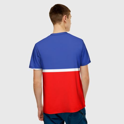 Мужская футболка 3D  Фото 02, Хоккеист Денис