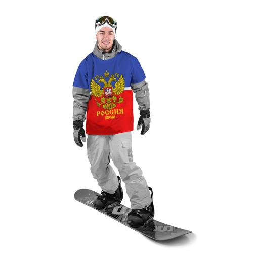 Накидка на куртку 3D  Фото 03, Хоккеист Юрий