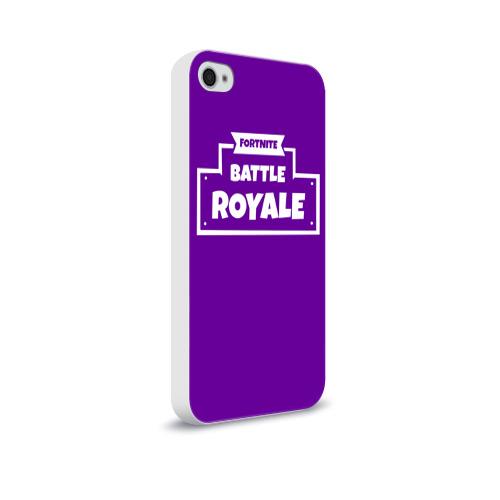 Чехол для Apple iPhone 4/4S soft-touch  Фото 02, Fortnite Battle Royale