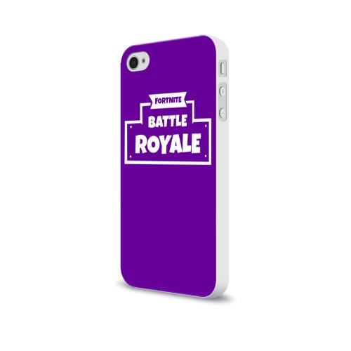 Чехол для Apple iPhone 4/4S soft-touch  Фото 03, Fortnite Battle Royale
