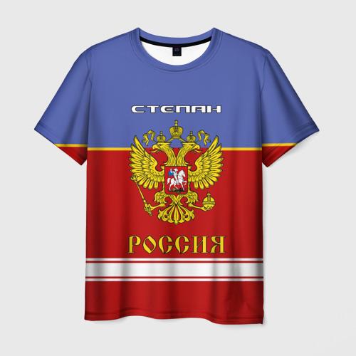 Мужская футболка 3D  Фото 03, Хоккеист Степан