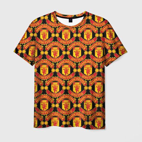 Мужская футболка 3D  Фото 01, Manchester United
