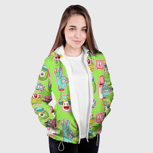 Женская куртка 3D  Фото 04, Страшилки монстрики