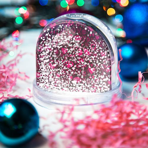 Водяной шар со снегом  Фото 04, День любви