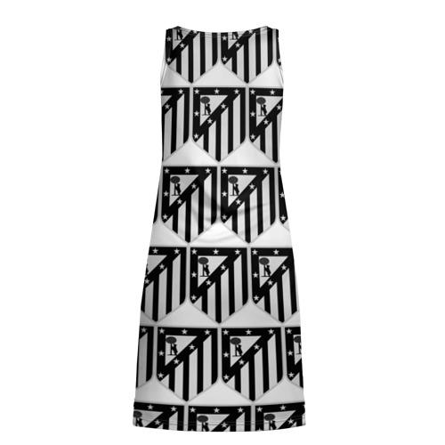 Платье-майка 3D  Фото 02, Atletico Madrid Black&White