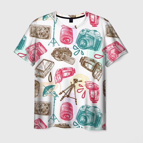 Мужская футболка 3D  Фото 01, Блогер