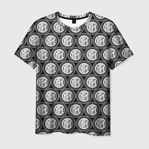 Мужская футболка 3D  Фото 03, Inter Black&White