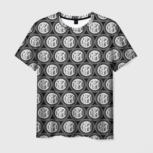 Мужская футболка 3D  Фото 01, Inter Black&White
