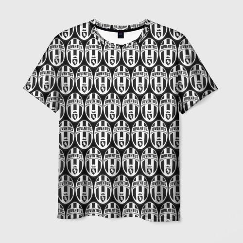 Мужская футболка 3D  Фото 01, Juventus Black&White