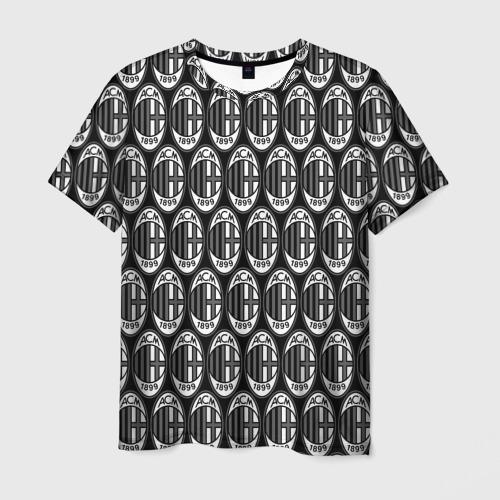 Мужская футболка 3D  Фото 01, Milan Black&White