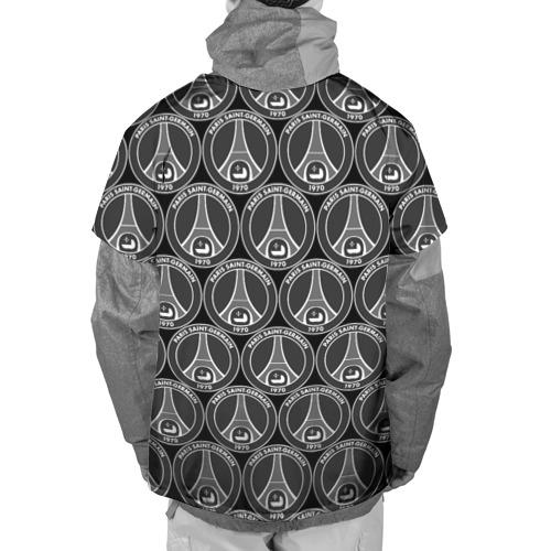 Накидка на куртку 3D  Фото 02, PSG Black&White