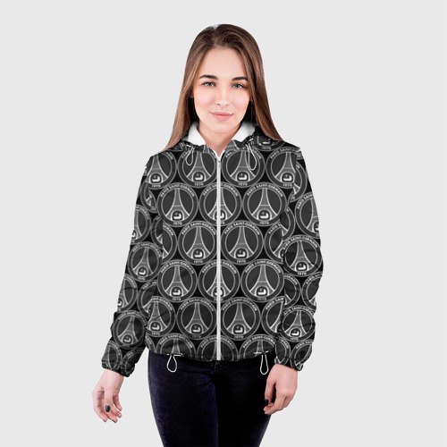 Женская куртка 3D  Фото 03, PSG Black&White