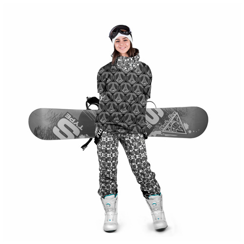 Накидка на куртку 3D  Фото 05, PSG Black&White