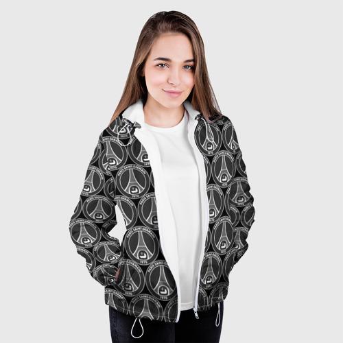 Женская куртка 3D  Фото 04, PSG Black&White