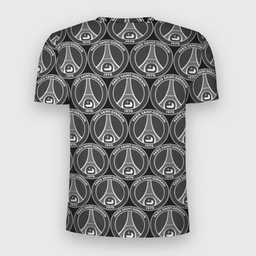 Мужская футболка 3D спортивная  Фото 02, PSG Black&White