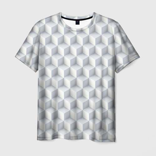 Мужская футболка 3D  Фото 01, 3D Кубы