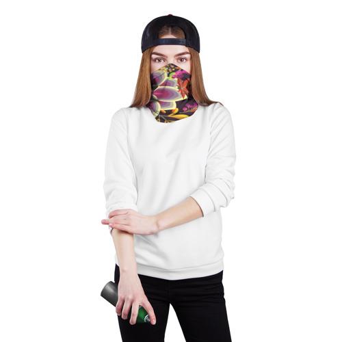 Бандана-труба 3D  Фото 02, Осенние мотивы