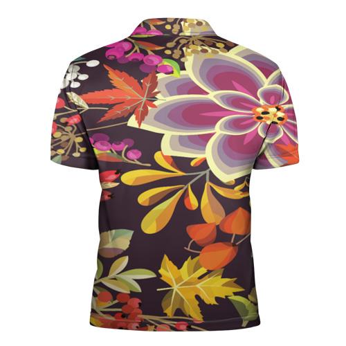 Мужская рубашка поло 3D  Фото 02, Осенние мотивы