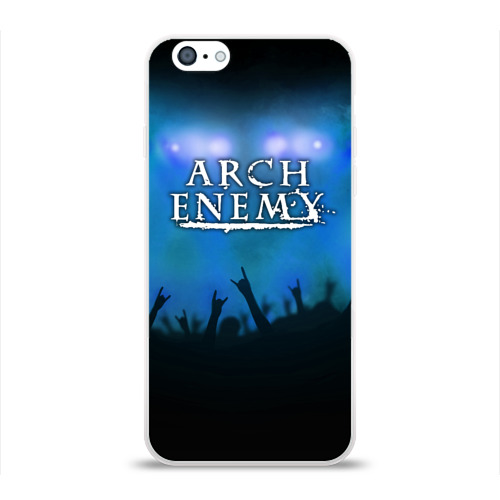 Чехол для Apple iPhone 6 силиконовый глянцевый  Фото 01, Arch Enemy