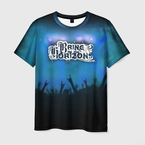 Мужская футболка 3D  Фото 01, Bring Me The Horizon