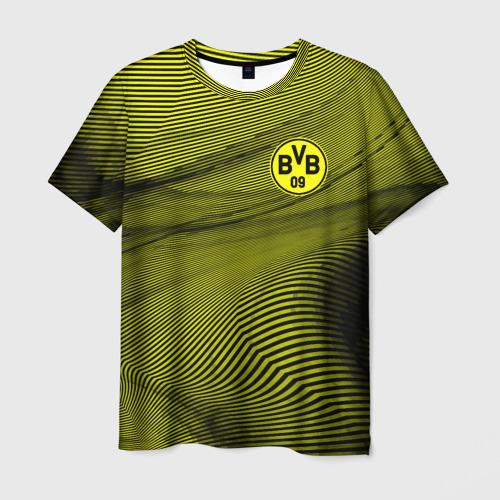 Мужская футболка 3D  Фото 03, Borussia sport